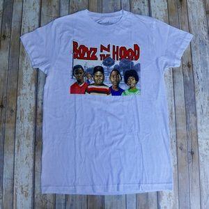 *New* Boyz N The Hood Vintage White Cotton T-Shirt